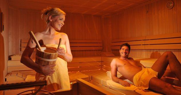 моюсь зимой в бане фото